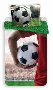 Detské bavlnené obliečky futbalovej lopty, futbal | 1x 140/200, 1x 90/70