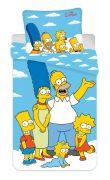 Bavlnené obliečky na modrom podklade Simpsons Family   1x 140/200, 1x 90/70