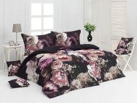 Kvalitné saténové obliečky s motívom kvetín v modernom vzhľade. Matějovský