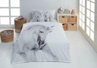 Kvalitné bavlnené obliečky Galus s motívom koňa.   1x 140/200, 1x 90/70, 1x 140/220, 1x 90/70