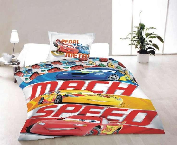 Bavlnené obliečky s motívom Cars (áut) Jerry Fabrics