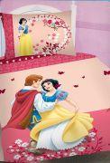 Ružové obliečky s motívom Snehulienky Jerry Fabrics