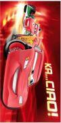 Osuška pre chlapcov Cars ciao 2013 75x150 cm Jerry Fabrics