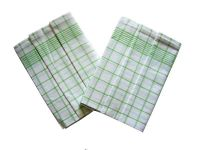 Utierky Negativ biela/zelená - 3 ks