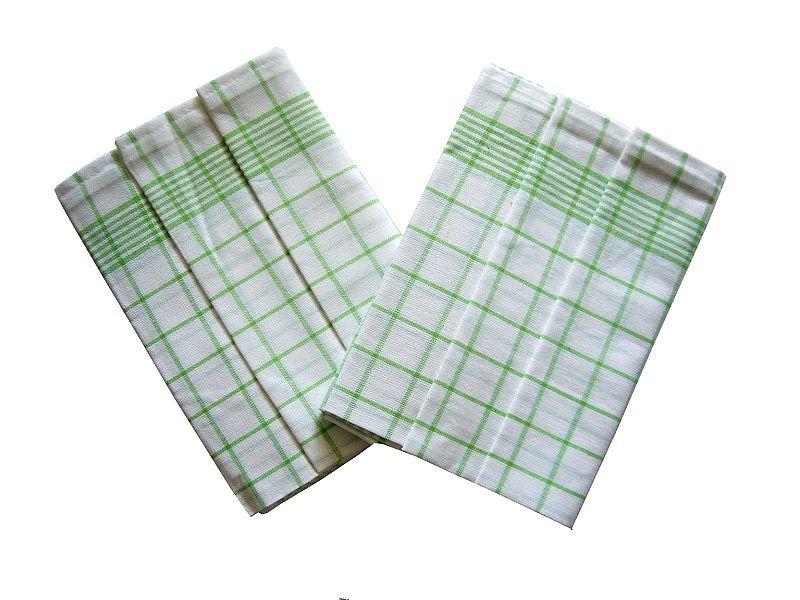 Utierky Negativ biela/zelená - 3 ks Svitap