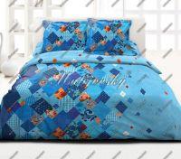 Obliečky Valencia blau bavlna