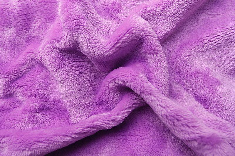 Plachta z mikroflanelu (fialová) lila Svitap