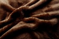 Mikroflanelová plachta hnedá Svitap