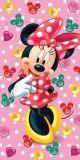 Detská osuška Minnie ružová Jerry Fabrics