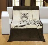 Deka vzorovaná 150x200cm Tiger