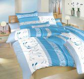 Obliečky bavlna Slezsko modré