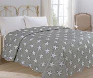 Prehoz na posteľ Star šedá 200x240 cm