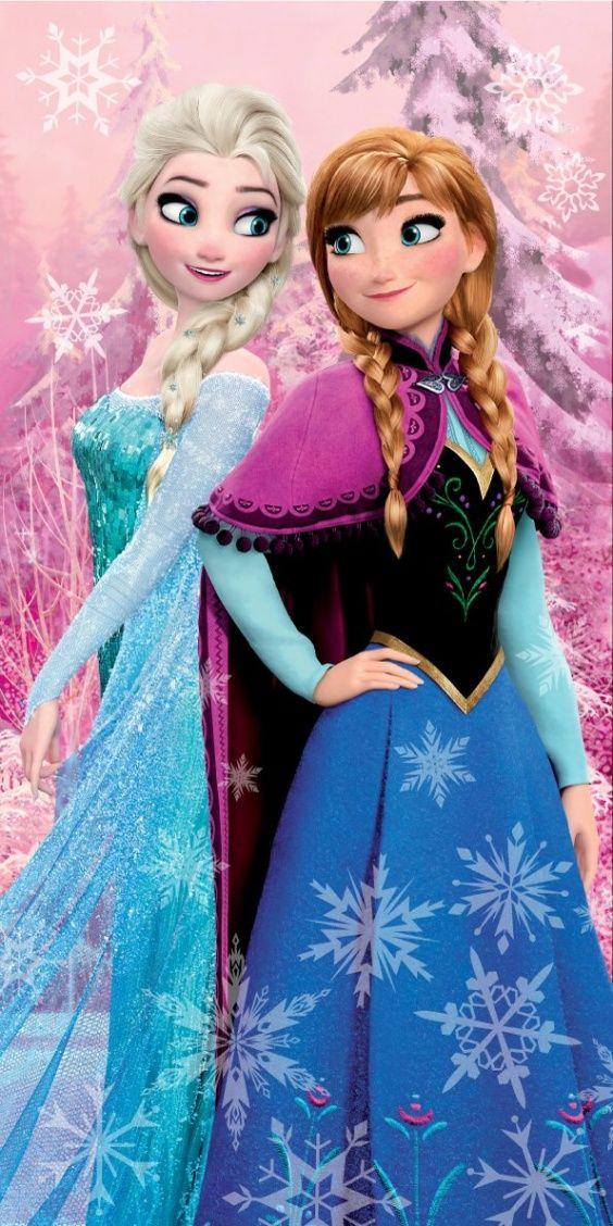 Osuška pre dievčatá s motívom Frozen, Ľadové kráľovstvo Jerry Fabrics