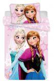 Disney obliečky do postieľky Frozen pink baby