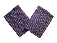 Utierka Extra savá Drobná kocka fialovo/biela - 3 ks