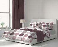 Bavlnené obliečky Ava fialová