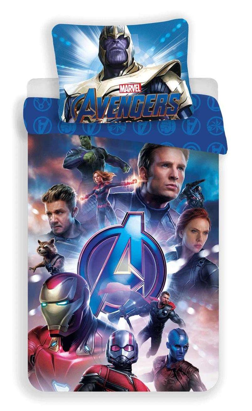 Pekné bavlnené obliečky pre deti Avengers Endgame Jerry Fabrics
