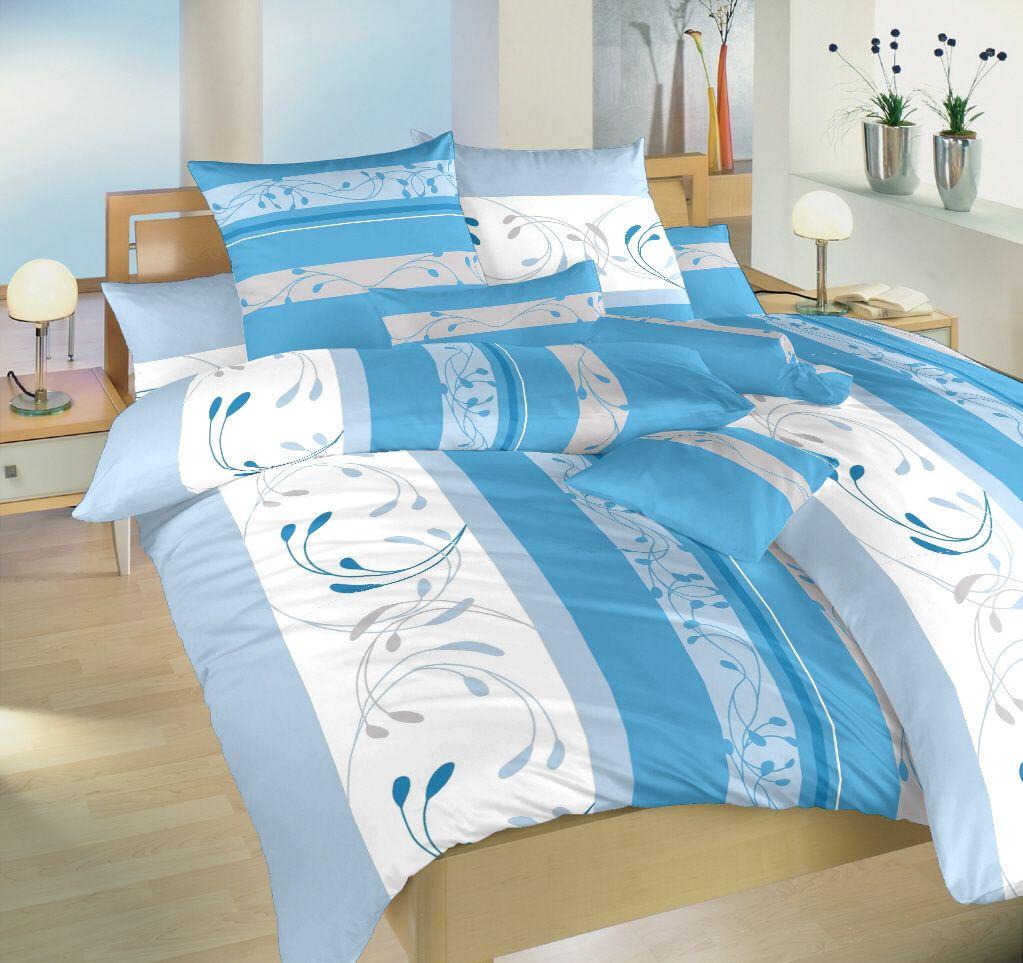 Krepové obliečky Slezsko v modrej farbe Dadka