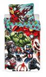 Pekné bavlnené obliečky pre deti Avengers Comics Jerry Fabrics