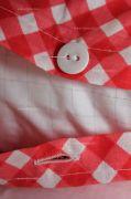 Bavlnený poťah Kanafas kocka červená český výrobce
