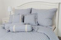 Bavlněné obliečky Modrý pruh český výrobce