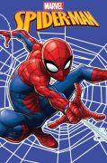 Detská fleecová deka Spiderman na modrom podklade   100/150